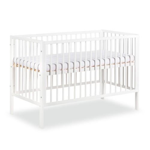 Lit bébé 120x60 blanc