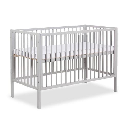 Lit bébé 120x60 gris