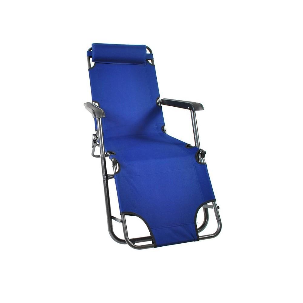 chaise longue transat pliable 3 position. Black Bedroom Furniture Sets. Home Design Ideas