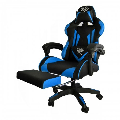 Fauteuil de bureau gamer bleu