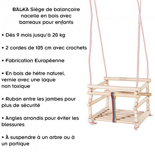balançoire balka