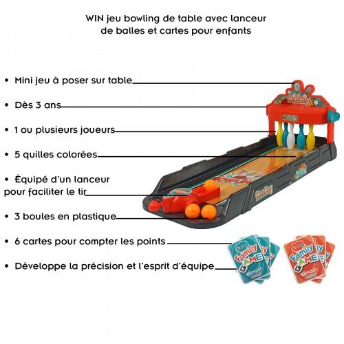 Mini jeu de bowling