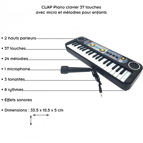 Clavier 37 touches