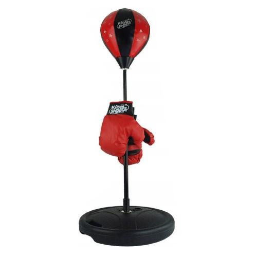 Jeu boxe avec paire de gants