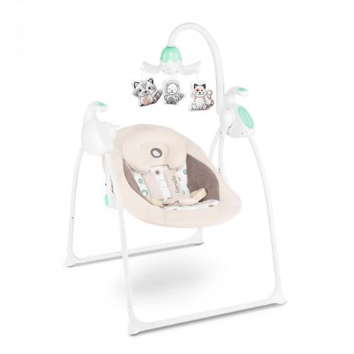 ROBIN Balancelle motorisée pour bébé de 0 à 12 kg