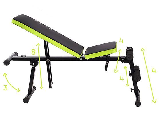 acheter banc de musculation abdominaux dorsaux pectoraux universel noir pas cher. Black Bedroom Furniture Sets. Home Design Ideas