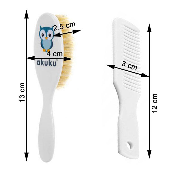 Brosse et peigne cheveux bébé