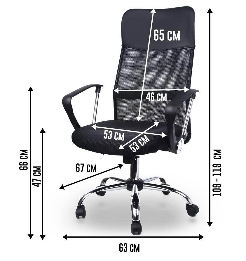 fauteuil bureau homekraft air plus fauteuil de bureau si ge en tissu inclinable noir darty. Black Bedroom Furniture Sets. Home Design Ideas