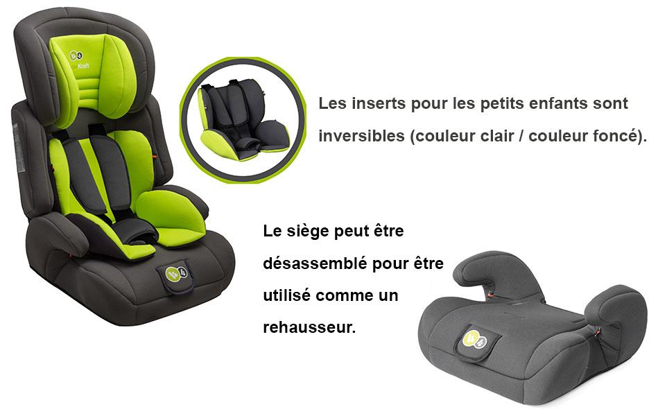 si ge auto groupe 1 2 3 kinderkraft si ge auto comfort up volutif 9 36 kg groupe 1 2 3. Black Bedroom Furniture Sets. Home Design Ideas