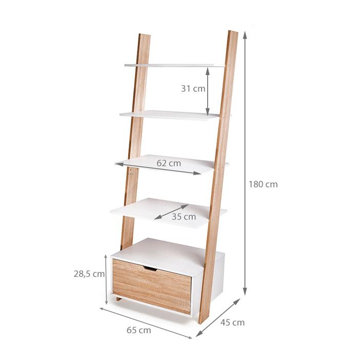 Dimensions de l'étagère Berg
