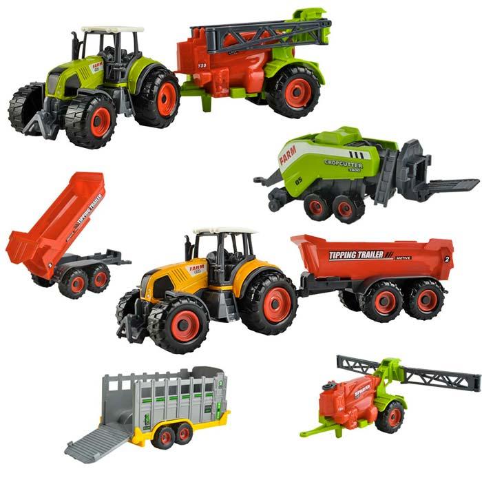 Jouets tracteurs enfant