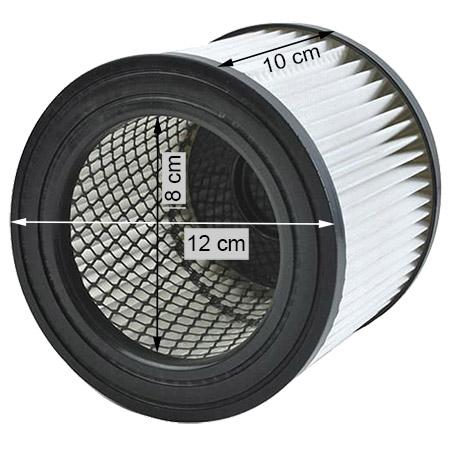 filtre hepa vide cendre