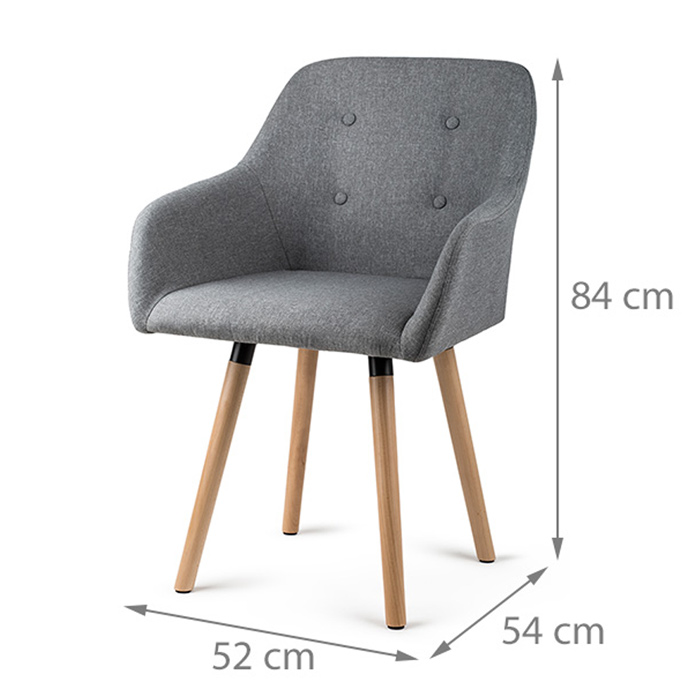 Dimensions fauteuil INGE