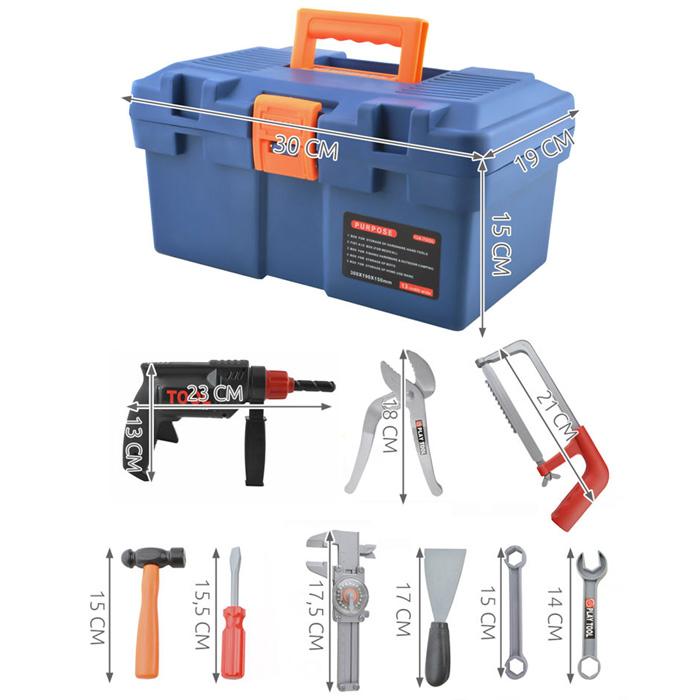Dimensions boite à outils