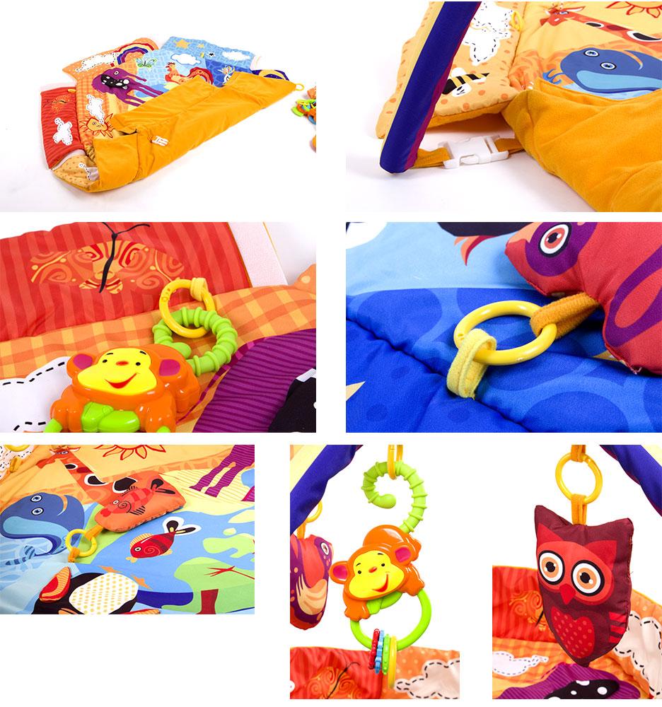 tapis d 39 veil kinderkraft tapis d 39 veil ducatif animals planet fonction parc 7 jouets darty. Black Bedroom Furniture Sets. Home Design Ideas