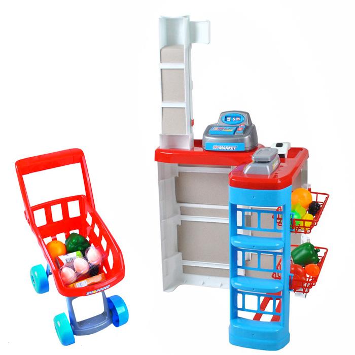 jeux d 39 imitation monmobilierdesign marchande picerie caisse de supermarch pour enfant darty. Black Bedroom Furniture Sets. Home Design Ideas