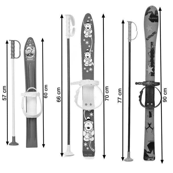 Mini ski neige