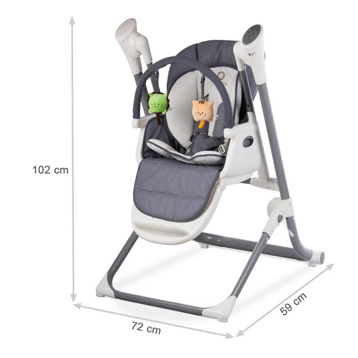 Lionelo Dimensions Chaise Haute