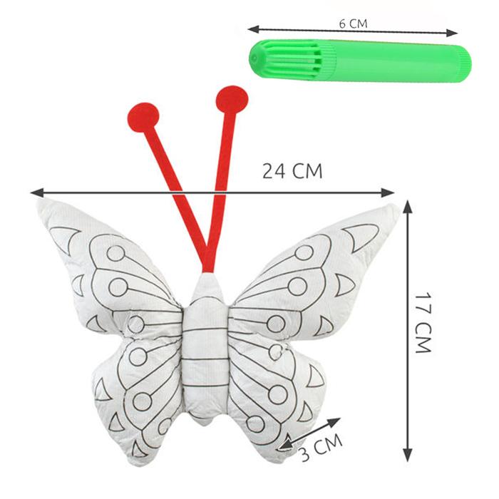 papillon à colorier