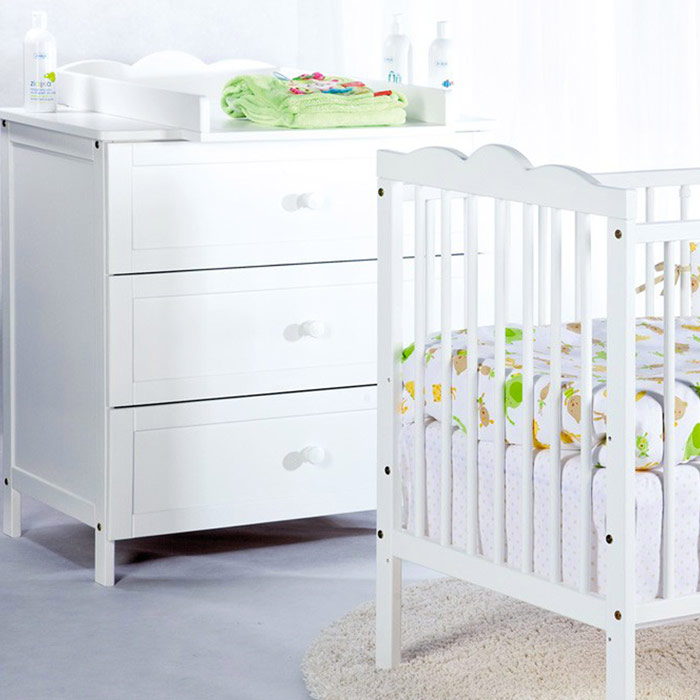 ensemble commode lit bébé