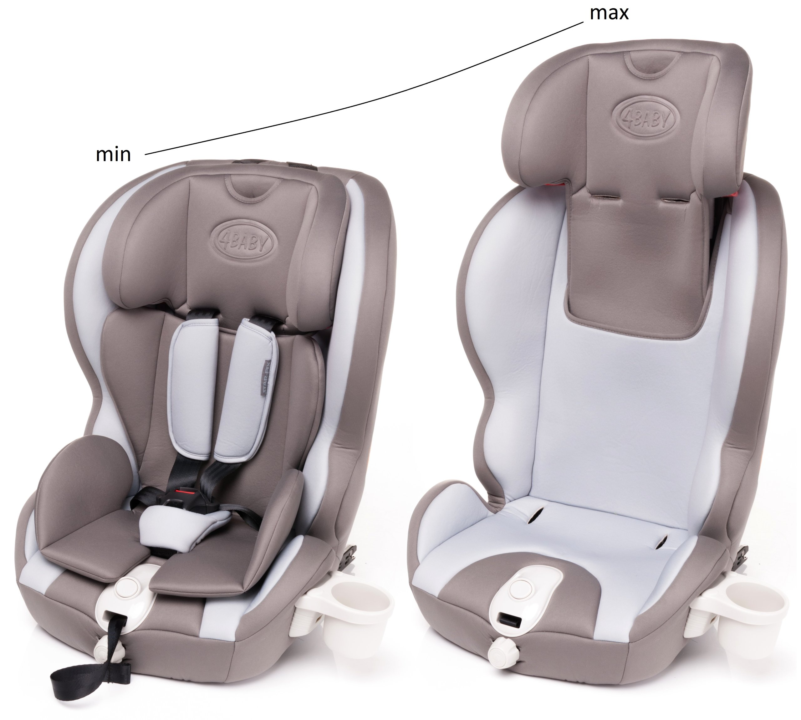Star fix 9 36kg isofix si ge auto groupe 1 2 3 inclinable - Siege auto isofix inclinable groupe 2 3 ...