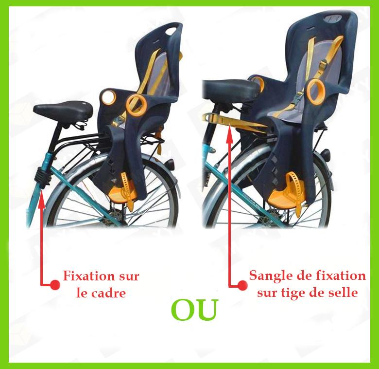 Siège De Vélo Confort Porte Bagage Pour Bébé Enfant