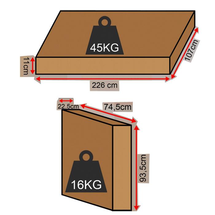 poids et dimensions du colis