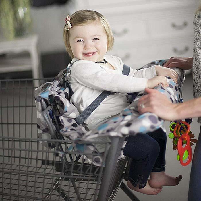 Protection chaise haute bébé