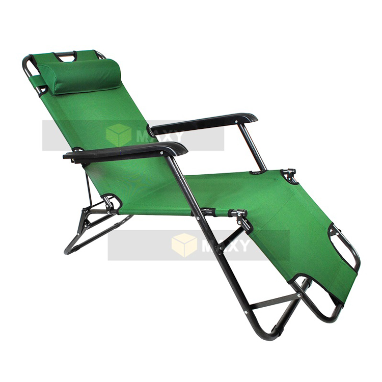 Chaise Longue Transat Pliable 3 Position