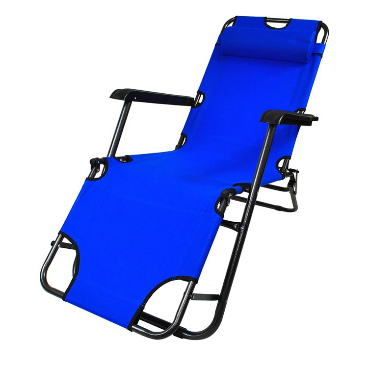 Chaise longue transat 3 positions fauteuil pliable jardin for Chaise construction