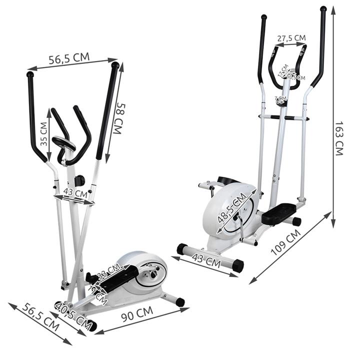 vélo elliptique cardio fitness