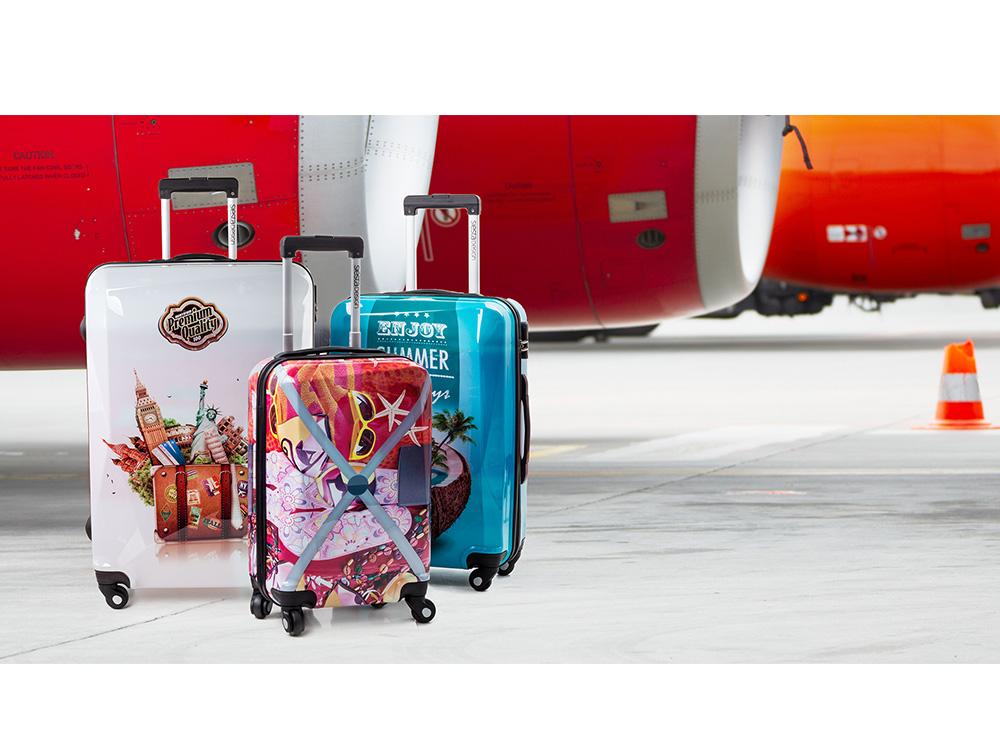 valise siesta design super lot de 3 valises tendance. Black Bedroom Furniture Sets. Home Design Ideas