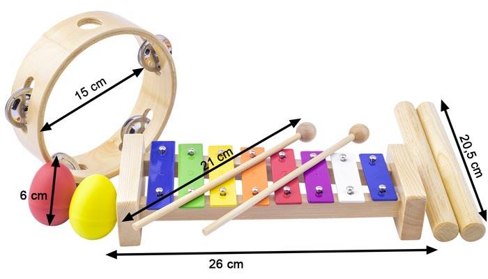 Instruments musique enfant