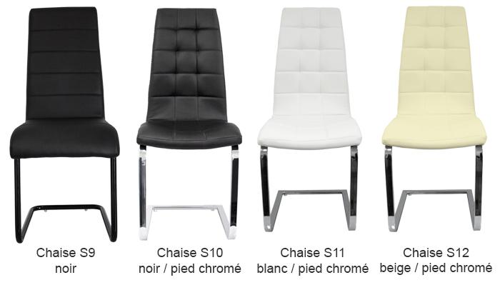 promo 4 chaises design paolo collaner