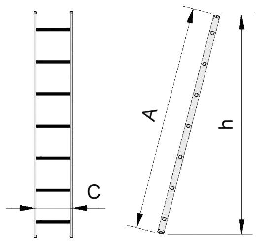 échelle eurostyl simple