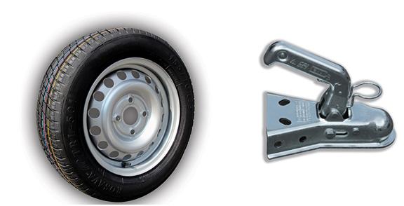 roue poignet remorque