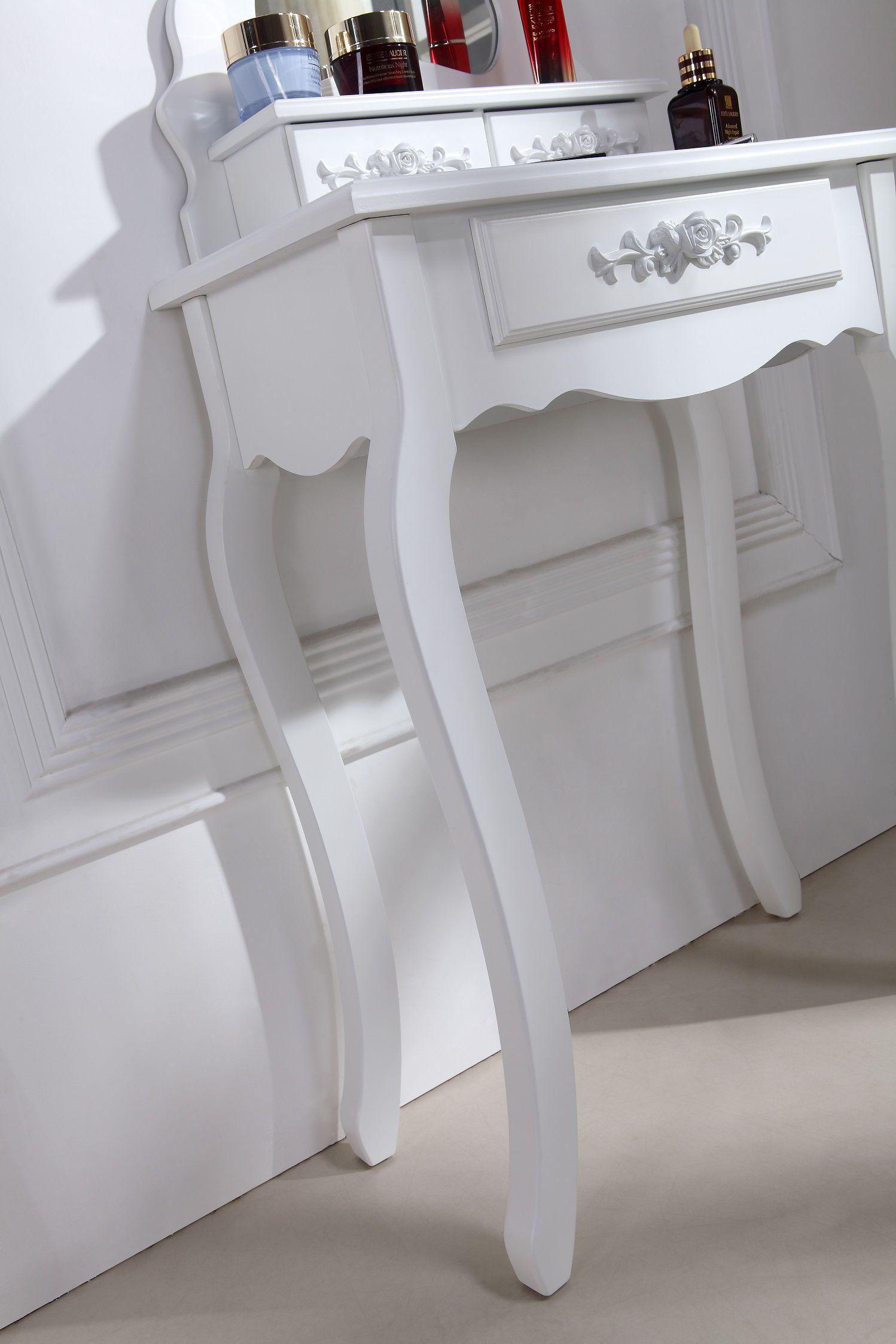 superbe coiffeuse table de maquillage gris vente de. Black Bedroom Furniture Sets. Home Design Ideas