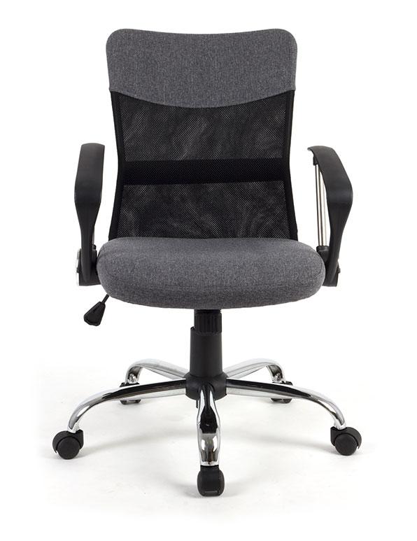 Chaise star gris et noir si ge fauteuil de bureau - Fauteuil bureau soldes ...